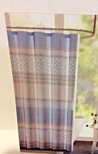 Urban Habitat 72 x 72 Shower Curtain Blue Gray Taupe ~ New