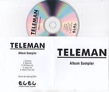 TELEMAN BREAKFAST RARE 5 TRACK ALBUM SAMPLER PROMO CD