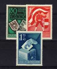 AUTRICHE - OSTERREICH n° 788/790 neuf avec charnière