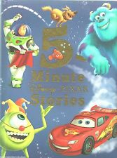 5 MINUTE DISNEY PIXAR STORIES Book NEW Cars TOY STORY Monsters NEMO Up BUGS LIFE