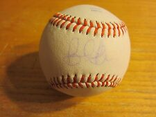 Billy Gardner Jr. Autographed Signed Rawlings Baseball MLB Tampa Bay Rays