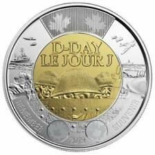 2019 CANADA 🥇 D-Day $2 Dollar Coin - NON-Colored Version; BU from roll; L👀K 🏆