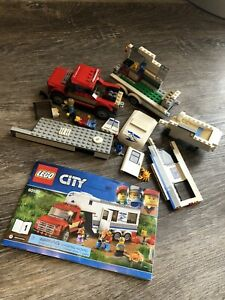 60182 Lego City RV incomplete set with instructions