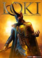 Marvel Sideshow Collectibles Thor Loki Premium Format 1:4 Scale Statue