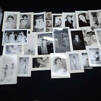 Vintage Photo Lot 24 lady girl photographs 1950s 1960s women rural life