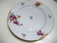 "Epiag Czechoslovakia Bridal Rose White Dinner Plate 10"""