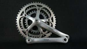 Campagnolo Racing T Road 175mm 3x9 speed Triple Crankset Record Touring 52/42/30