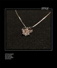 925 sterling silver Jewellery Necklace Zircon Pendant
