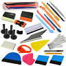Car Wrap Vinyl Tools Kit Carbon Fibre Wrapping Squeegee Felt Gasket Tuck Tint UK