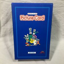 Picture Card Peppy Kids Club Educational Teaching English To Japan Students Blue