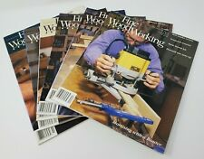 Fine WoodWorking Magazine  1996 (6) Issues 116-121