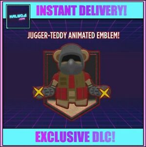 Call of Duty: Black Ops Cold War ~ Jugger-Teddy Animated Emblem ~ [CODE] 🧸