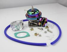 TYPE RS NEO CHROME TURBO CHARGER BOV BLOW OFF VALVE+GASKET+ADAPTER+HOSE