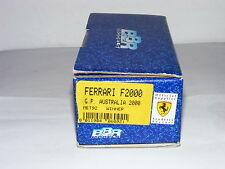 BBR MET92 Ferrari F1-2000 Winner Y2K Australian GP White Metal Kit 1/43