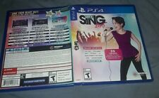 Let's Sing 2016 ps4 replacement case only