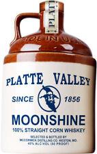 WHISKY PLATTE VALLEY MOONSHINE 100% STRAIGHT CORN WHISKEY CL 70 - 40 % vol.