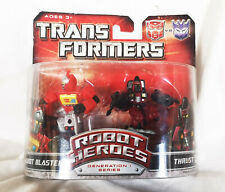 Universo De Transformers Robot Heroes Figuras Blaster & empuje Hasbro