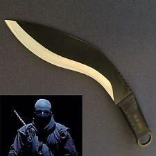 Full Tang Stainless Steel Kukri Survival Sharp swinging Machete/Knife
