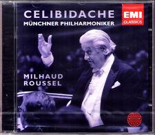 Sergiu CELIBIDACHE: MILHAUD Marimba Vibraphone ROUSSEL Petite Suite francaise CD