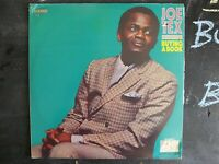 JOE TEX BUYING A BOOK VINYL LP ATLANTIC RECORDS ALBUM 1969 SD 8231 FUNK RARE