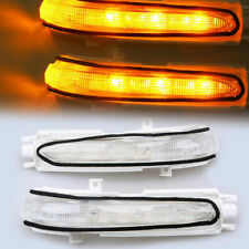 2pcs for Acura TSX /06-07 Honda Accord Mirror Amber LED Turn Signals lights leds