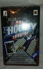 1990-91 Upper Deck Cards NHL Hockey  Box Opened