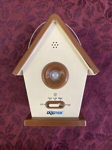 Dogtek Sonic Bird House Bark Control Indoor Outdoor Hanging Low Med High