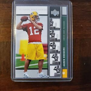2005 Upper Deck #202 Aaron Rodgers Rookie Card Graded BCCG 10