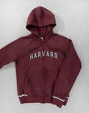 Harvard University NIKE Team Stitched Hoodie Jacket (Womens Medium) Maroon