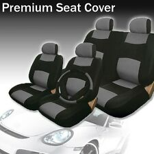2004 2005 2006 2007 For Honda Accord Car Seat Cover BK/Gry