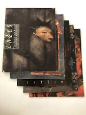 Cages By Dave McKean -Five Issues Vintage Graphic Novel (1990-1996) #1,4,5,7,10