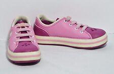 Crocs Crocband Sneakers Pink Sneak Shoes Glow in the Dark Tennies Girl's J2 EUC