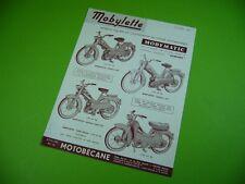 406KA2 Prospekt, leaflet (1961): MOTOBÉCANE Mobylette MOBYMATIC