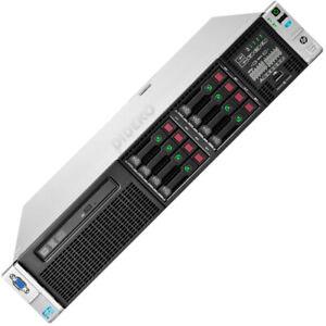 HP ProLiant DL380p Gen8 2x Xeon E5-2670 32x 2,6 GHz 128 GB RAM 2x 600 GB HDD