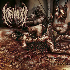 KRAANIUM (Norway)‎ – Chronicles Of Perversion (Brutal Death, Slam) CD 2015