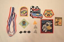 12 Pc Cub Boy Scout Pins Patches Badges Bobcat Wolf Bear Popcorn Sales Pinewood
