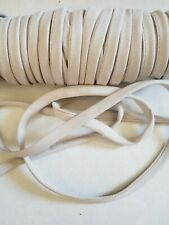 "LOT OF*5*Yards*""3/8 IN*TAN COLOR BIAS FINISHED TAPE"