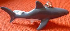 GREAT WHITE SHARK AUSTRALIAN MARINE LIFE SOUVENIR KEYCHAIN KEY RING Size 80mm