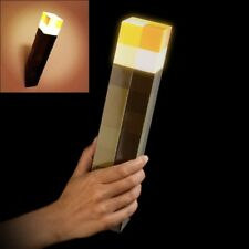 Original Minecraft Light-Up Torch LED Minecraft Lamp Hand Held or Wall Mount