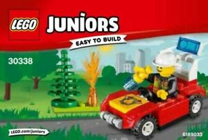 Lego Juniors Easy To Build Fire Truck Mini Figure Set 30338 Brand New Sealed