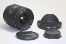 Sigma 17-35mm F/2.8-4 EX DG ASPHERICAL HSM Lens for Canon EF Made In Japan
