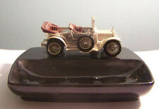 Vintage Lesney Cast Car Porcelain Ashtray England