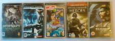 Lot x5 PSP Games Bundle Sony Complete