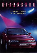 Mazda Hitparade Prospekt 1991 Autoprospekt brochure brosjyre Auto