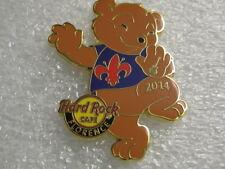 FLORENCE,Hard Rock Cafe Pin,Scout Bear Series 2014