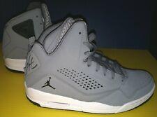 Air Jordan SC-3 Flight Men's Cool Grey / Black-White Basketball Sneakers 10 Rare