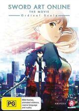 The Sword Art Online - Movie - Ordinal Scale (DVD, 2018)