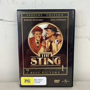 The Sting Special Edition Region 4 DVD Redford Newman Free Postage