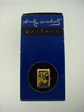 "ANDY WARHOL ""COW"" C.1971 ACME STUDIOS QUARTZ JAPAN WATCH BOX"