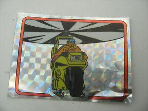 album PANINI immage Vignette Brillante hologramme MASK n°133 CONDOR